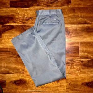 Nike Golf wicking gray men's casual golf pants 35